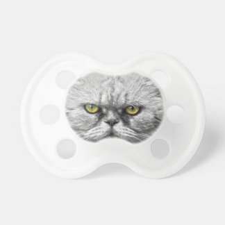 Angry Golden Cat Eyes Pacifier