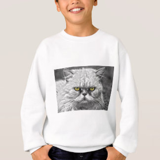 Angry Golden Cat Eyes Sweatshirt