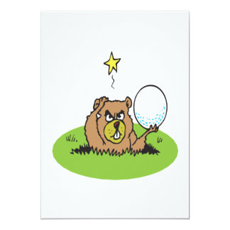 Angry Gopher Card