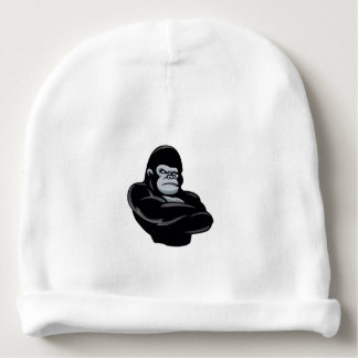angry  gorilla baby beanie
