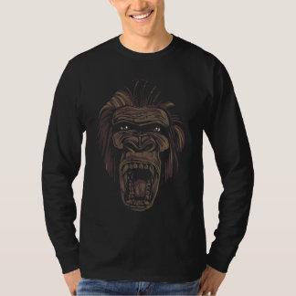 Angry Gorilla, Men's Long Sleeve T-shirt