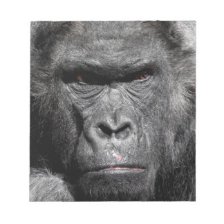 Angry gorilla notepads