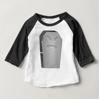 Angry Halloween Tombstone Baby T-Shirt