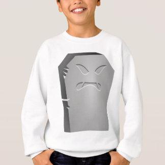Angry Halloween Tombstone Sweatshirt