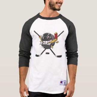 Angry Hockey Puck Hockey Shirts for Men or Boys