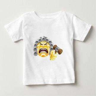 Angry Judge Emoji Emoticon Baby T-Shirt