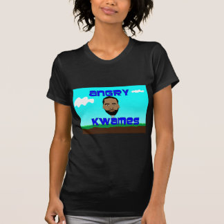 Angry Kwames Title Page Logo T-Shirt