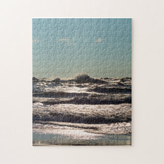 Angry Lake Michigan Jigsaw Puzzle
