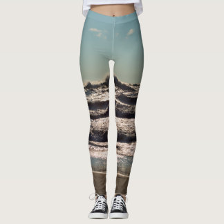 Angry Lake Michigan Leggings