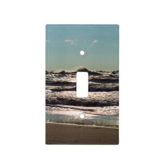 Angry Lake Michigan Light Switch Cover