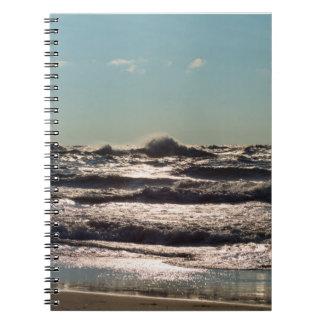 Angry Lake Michigan Notebook