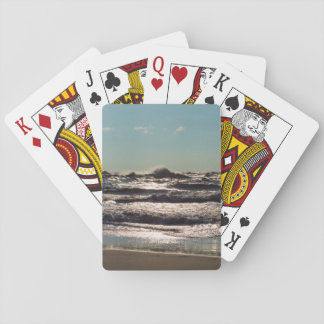 Angry Lake Michigan Playing Cards