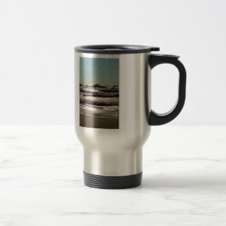 Angry Lake Michigan Travel Mug