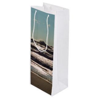 Angry Lake Michigan Wine Gift Bag