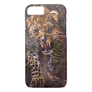 Angry leopard iPhone 8/7 case