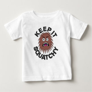 Angry Little Squatch Baby T-Shirt