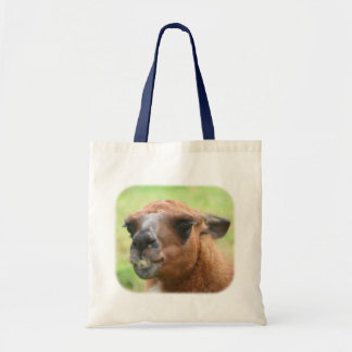 Angry Llama Farm Animal Tote Bag