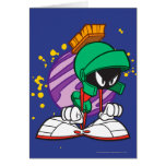 Angry Marvin Greeting Card