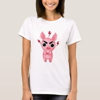 Angry Molly the Micro Pig T-shirt