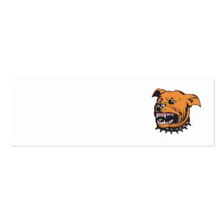 Angry Mongrel Dog Business Card