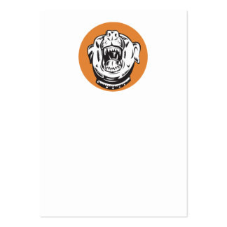 Angry Mongrel Dog Business Card Templates