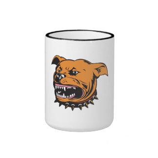 Angry Mongrel Dog Coffee Mugs