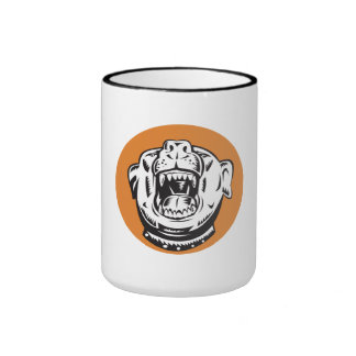 Angry Mongrel Dog Mugs