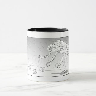 Angry Monster Bus - Mug