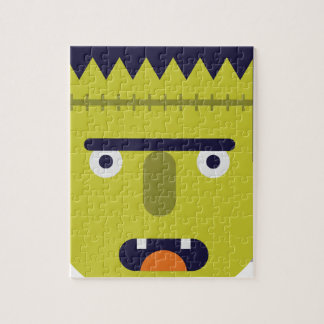 Angry Monster Jigsaw Puzzle