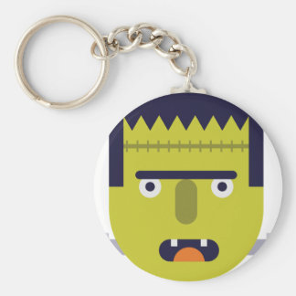 Angry Monster Keychain