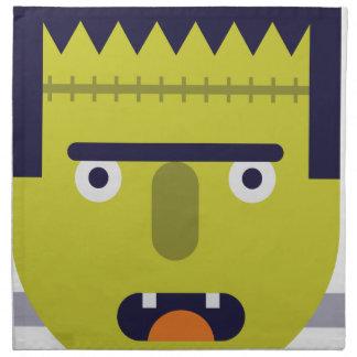 Angry Monster Napkin