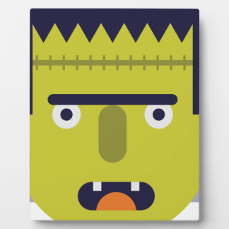 Angry Monster Plaque