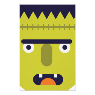 Angry Monster Stationery