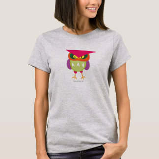 Angry owl is colorful T-Shirt