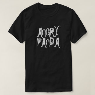 Angry Panda Men's Basic Dark T-Shirt