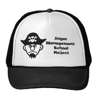 Angry Pirate Trucker Hat