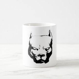 Angry Pitbull Dog Coffee Mug
