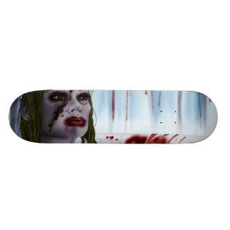 angry princess skate board