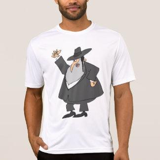 Angry Rabbi Mens Active Tee