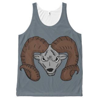 Angry Ram Tank Top