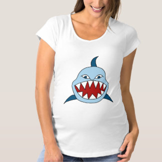 Angry Shark Maternity T-Shirt