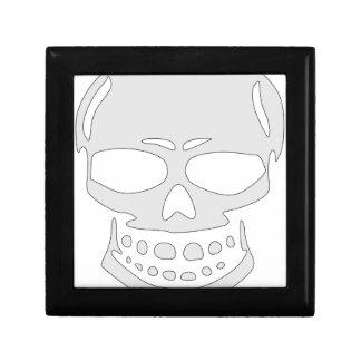 Angry Skull Face Gift Box