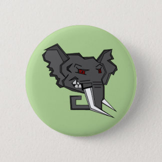 Angry squared elephant button