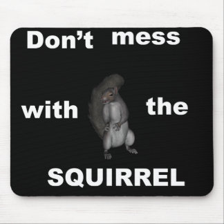 Angry Squirrel Mousepad