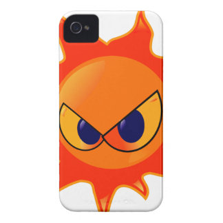 Angry Sun iPhone 4 Case