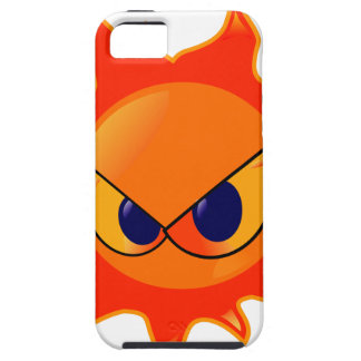 Angry Sun iPhone 5 Cover