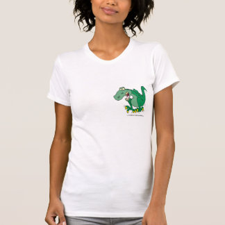 angry t-rex dino tantrum T-Shirt