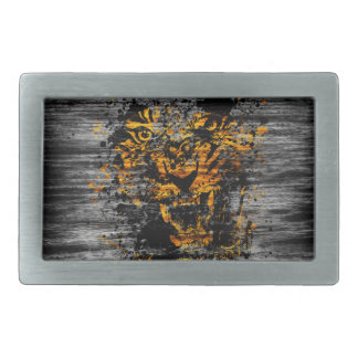 Angry Tiger Belt Buckle