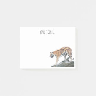 Angry Tiger Personalized Post It Notes