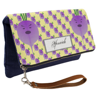 Angry Turnip by Kenneth Yoncich Clutch